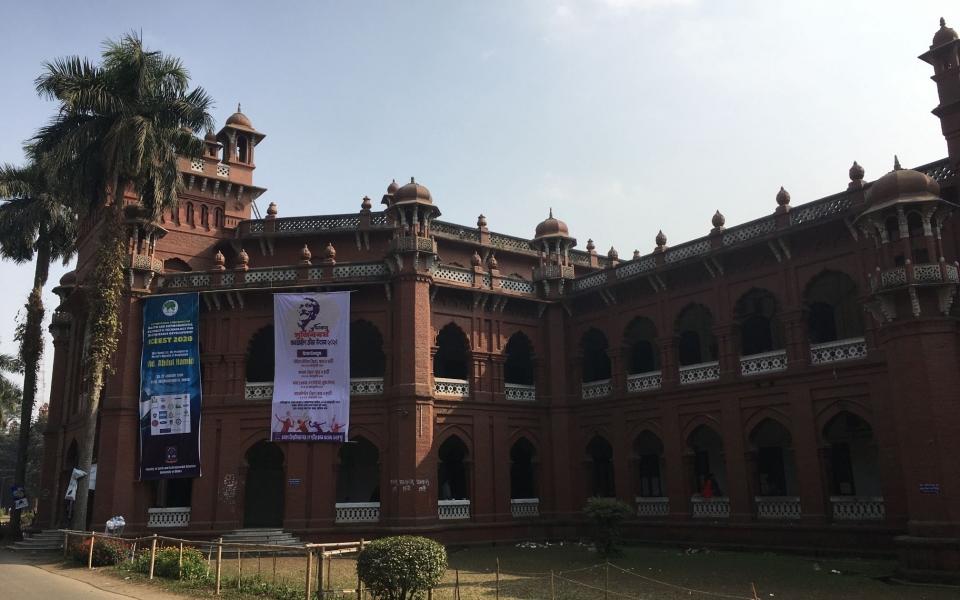 Curzon Hall, University of Dhaka, Bangladesh, January 2020