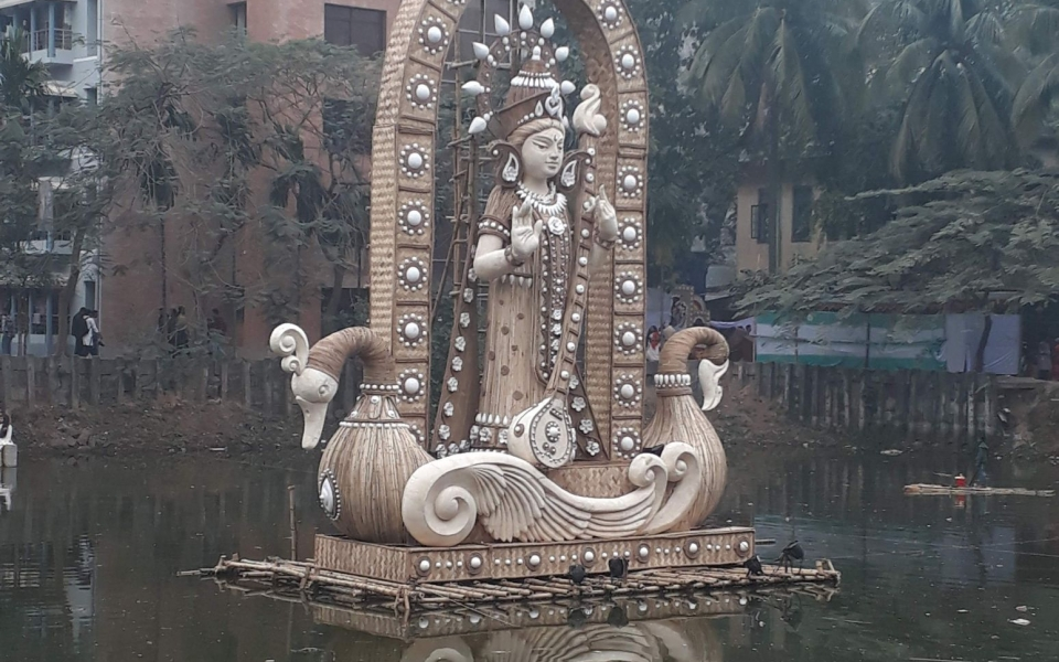 Saraswati Puja, Dhaka, Bangladesh, January 2020